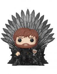 Funko- Pop Deluxe: Game of S10: Tyrion Sitting on Iron Throne